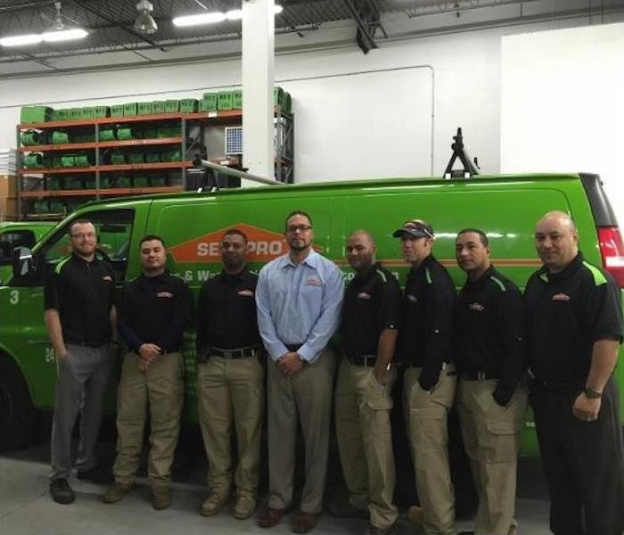 Picture of team members of SERVPRO